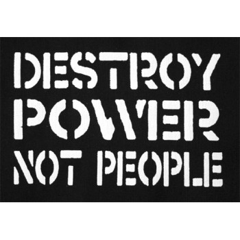 PATCH DESTROY POWER NOT PEOPLE