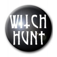 BADGE WITCH HUNT