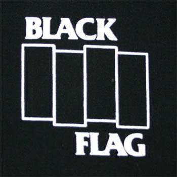 PATCH BLACK FLAG (LOGO BARRES)