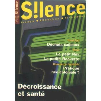SILENCE - LOT DE 3 REVUES (341/343/344)