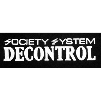 PATCH SSD - SOCIETY SYSTEM DECONTROL