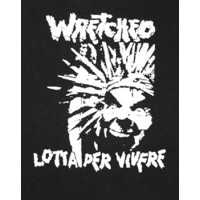 PATCH WRETCHED (LOTTA PER VIVERE)