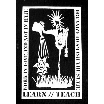 PATCH A-POLITICAL - LEARN / TEACH