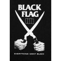 PATCH BLACK FLAG (EVERYTHING WENT BLACK)