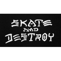 PATCH SKATE AND DESTROY