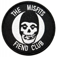 THE MISFITS FIEND CLUB PATCH BRODÉ