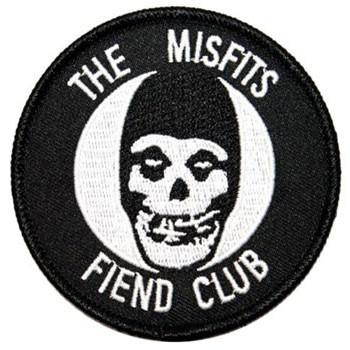 THE MISFITS FIEND CLUB PATCH BRODÉ