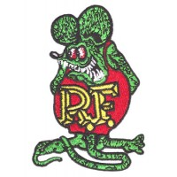 RAT FINK PATCH BRODÉ