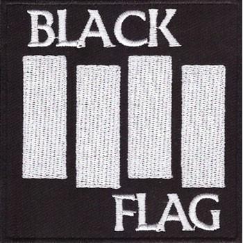 BLACK FLAG PATCH BRODÉ