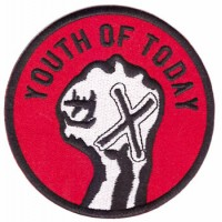 YOUTH OF TODAY - PATCH BRODÉ