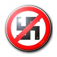 BADGE ANTI NAZI