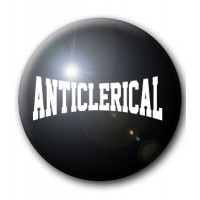 BADGE ANTICLERICAL