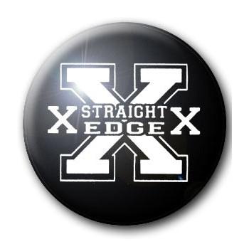 BADGE STRAIGHT EDGE - XXX