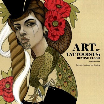 livre ART BY TATTOOISTS jo waterhouse - laurence king