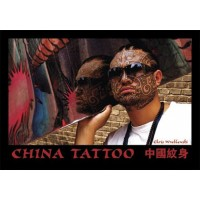 livre tatouage CHINA TATTOO Chris Wroblewski Last Gasp