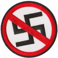 ANTI NAZI PATCH BRODÉ