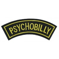 PSYCHOBILLY - PATCH BRODÉ