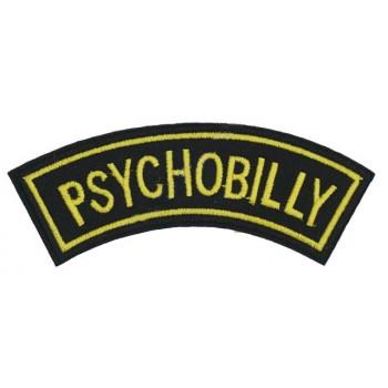 PSYCHOBILLY - PATCH BRODÉ