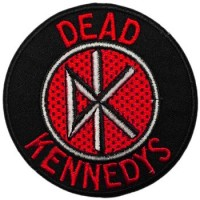 DEAD KENNEDYS - PATCH BRODÉ