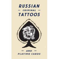livre RUSSIAN CRIMINAL TATTOO & PLAYING CARDS
