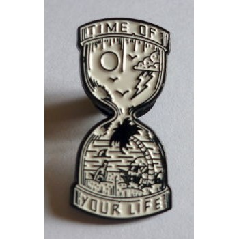 PINS EMAILLÉ TIME OF YOUR LIFE
