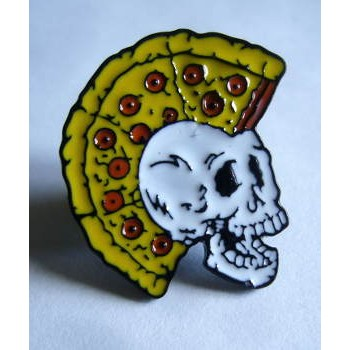 PINS EMAILLÉ PUNK PIZZA