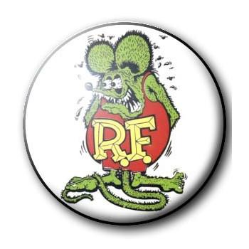 BADGE RAT FINK