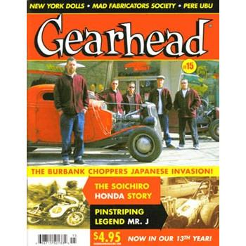 GEARHEAD N°15 WINTER 2007