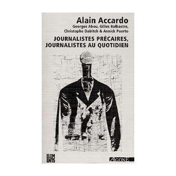JOURNALISTES PRECAIRES